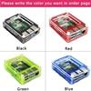 Original UK Raspberry Pi 4 Model B 1 2 4GB RAM BCM2711 Option Case32 GB SD CardSwitch Power  Micro HDMI  9 Layer Case  Fan promo