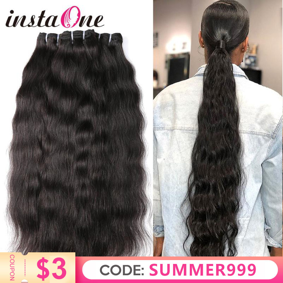 28 30 32 34 36 Inch Raw Indian Virgin Hair Weave Bundles 1 3 4 P/Lots Indian Hair Natural Straight 100% Human Hair Extension
