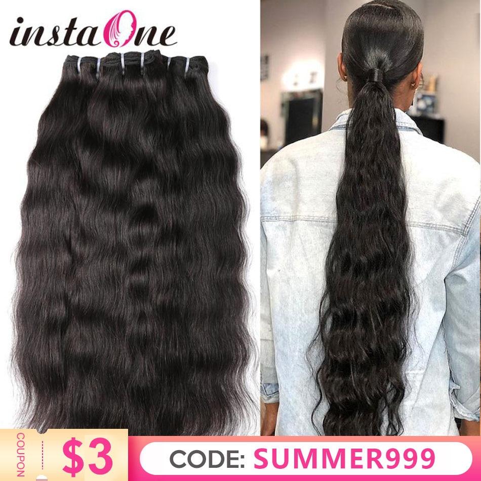 Tissage en lot indien naturel vierge brut | Cheveux lisses, 28 30 32 34 36 pouces, 100% cheveux naturels, Extension capillaire, 1 3 4 P/Lots