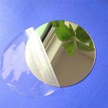 10 шт. диаметр 100x1 мм акриловые настенные зеркала круглый лист наклейки Пластик PMMA стекло отель декоративные линзы Miroir Фреска DIY плак