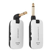 Nux B-2 2.4G Guitar Wireless System Transmitter & Receiver With 4 Channels Built-In Lithium Battery For Electric Bass