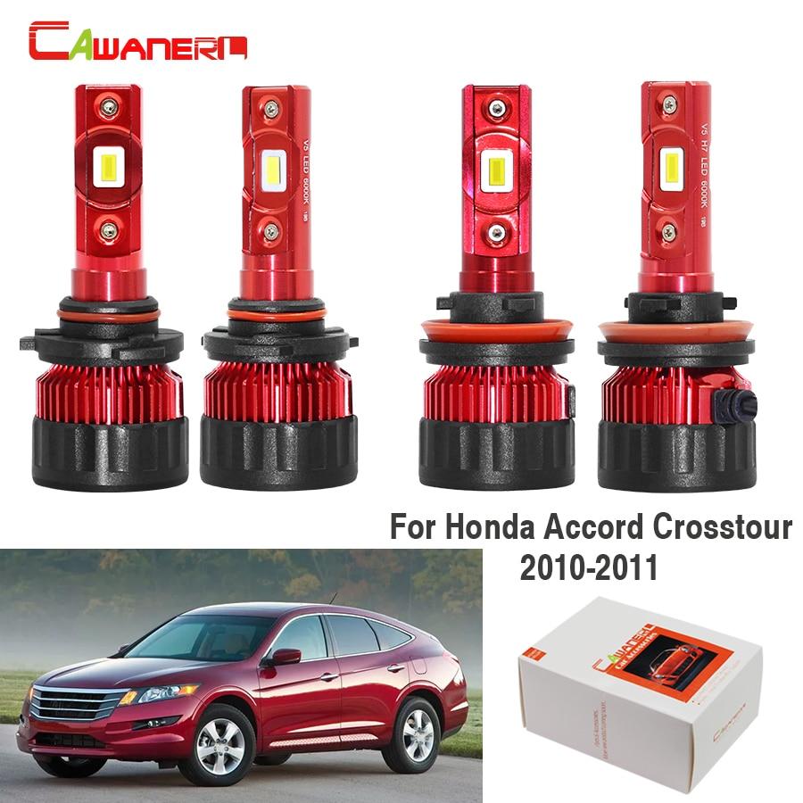 6X H7+H11+H11 COB LED Headlight Bulbs 100W 20000LM Fog Light High Low Beam 6000K