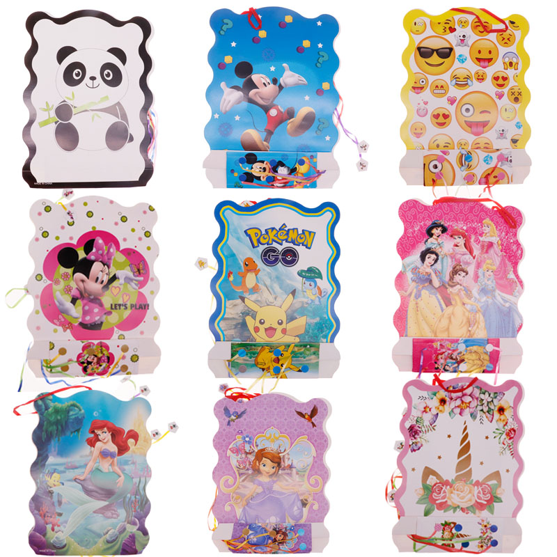 Cartoon Pinata Panda Football Sophia Princess Party Decoration Supplies For Baby Birthday Wedding Festival Supplies