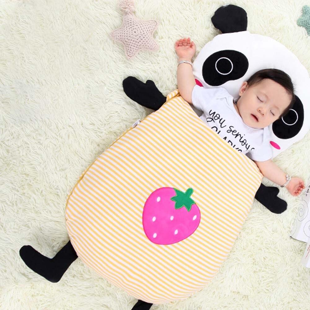 MrY Baby Sleeping Bag Envelope Newborns Cocoons Cartoon Soft Colored Cotton Diaper For Sleepsacks J71
