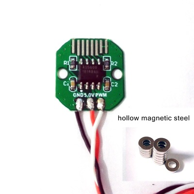 AS5600 I2c Interface Accuracy 12bit Brushless Head Motor Applicable Absolute Value En Coder Code Disk SetPWM Magnets