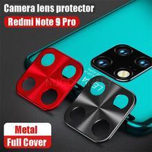 Защитный чехол для объектива камеры с металлическим кольцом для Xiaomi Redmi Note 9 Pro Max 9s 8 8T 7 Mi 9T K20 A2 6X, защитный чехол для задней камеры