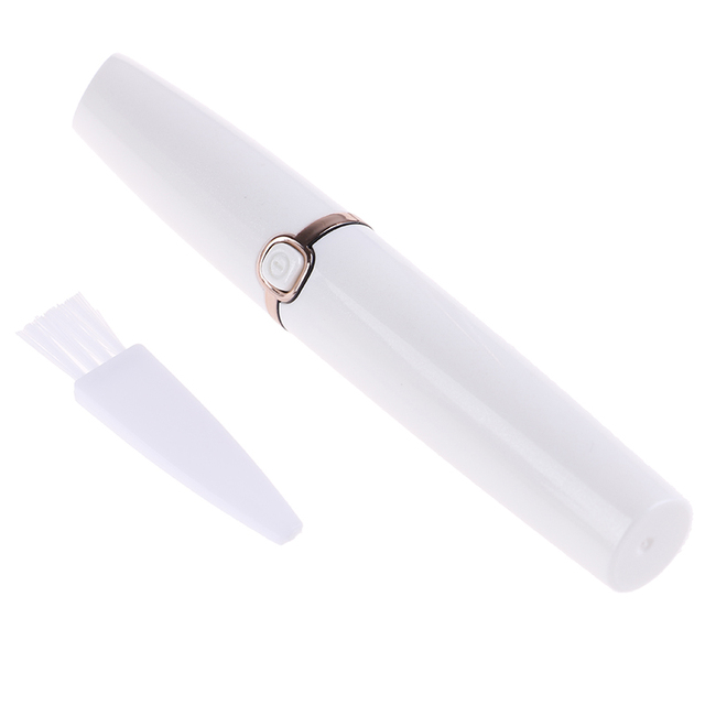 1pc Mini Eyebrow Shaver Razor Instant Painless Shaving Eyebrow Trimme Electric Face Eyebrow Hair Remover Epilator For Women 5