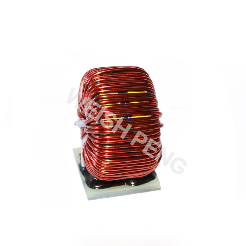 APF-L-1mh30A Doubl rings  high power magnetic ring inductor ferrosilicon inductor APF output filter inductor