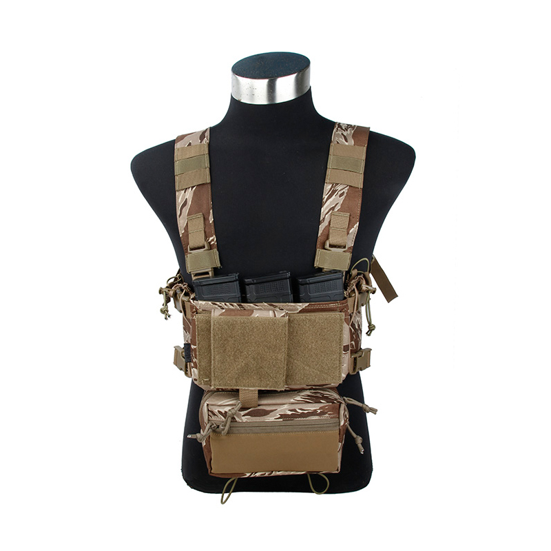 2019 SST Light Tactical Chest Set  Tiger Tabby SS Chest Set Tiger Stripe Desert Camouflage Vest
