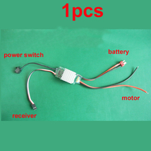1PC High Speed Boat Car Model 2-6S 40A Two Way Brushed ESC BEC 5V/2.1A Electroni
