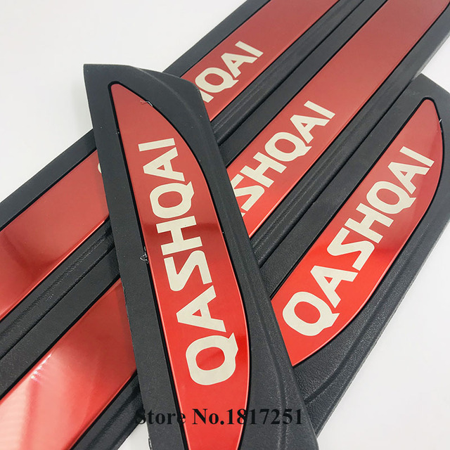 Фото порог двери из нержавеющей стали для nissan qashqai j10 2007