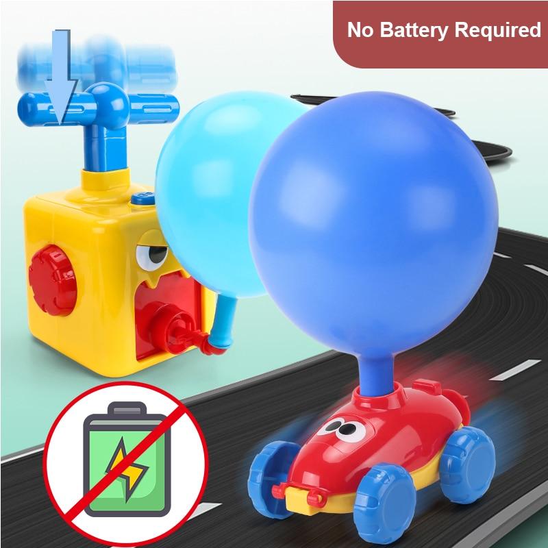 Putere balon lansare turn jucărie puzzle distracție educație - Vehicule de jucărie - Fotografie 4