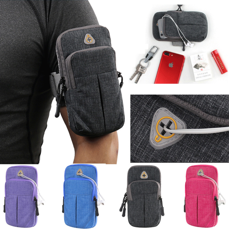 Arm Band Phone Holder Sport Running Jogging Gym Bag Case Pouch For Cell Phone  /BY