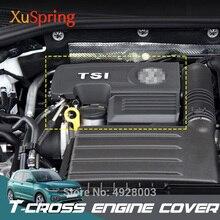 Xe 1.4T EA211 Nắp Động Cơ Mũ Ốp Lưng Bảo Vệ Nắp Cho VW T Túi Đeo Chéo Tcross 2019 2020 04E103925H 04E103932D