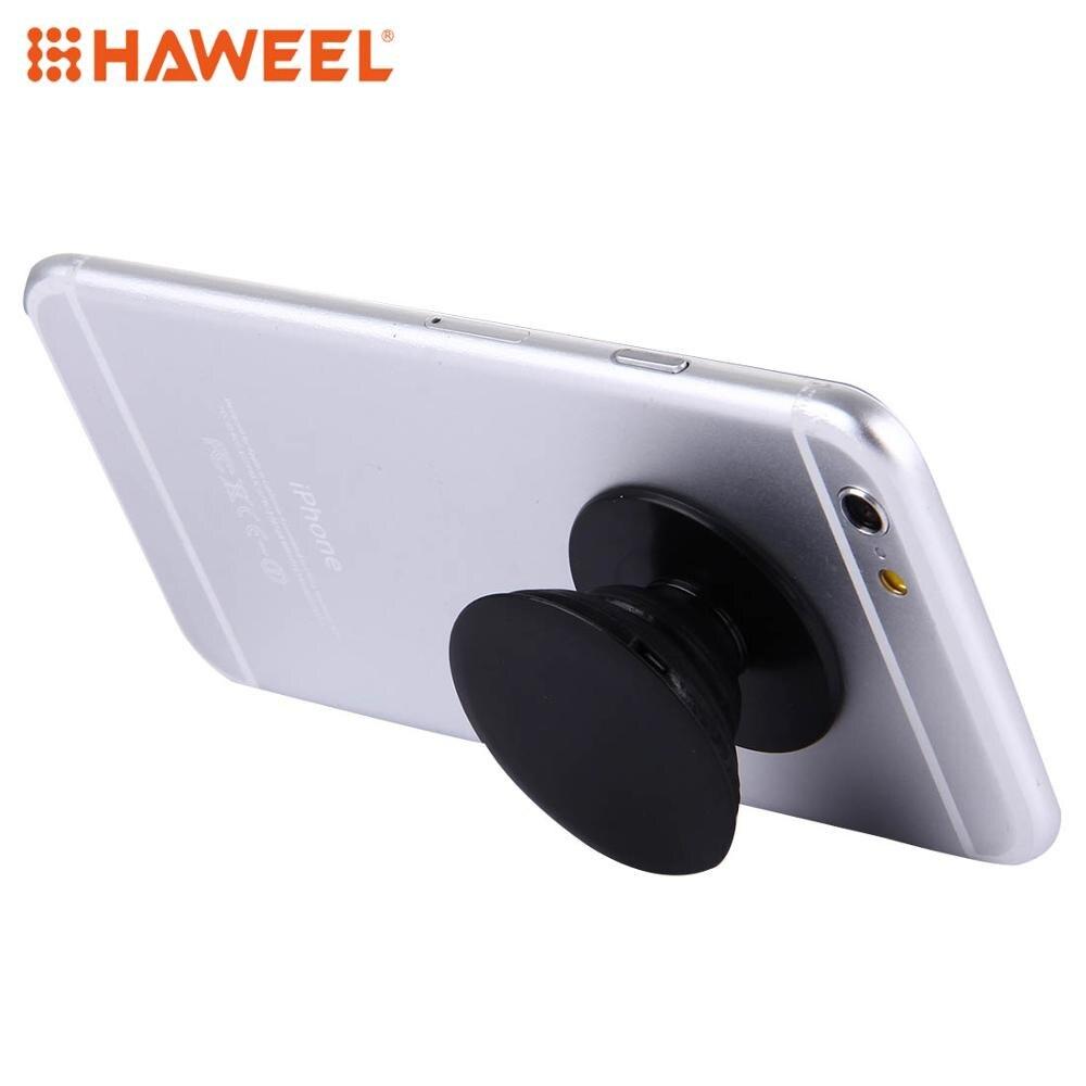 Haweel  Adjustable Universal PC Sucker Holder Stand, Diameter: 4 Cm, Height: 0.7-2 Cm For IPhone, Galaxy, Huawei, Xiaomi, LG