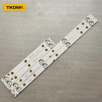 TKDMR LED Backlight strip lamp For AKAI AKTV3221 32LED38P Smart JS-D-JP3220-041EC E32F2000 D32-0A35 bs968 d32 el