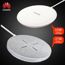 Huawei Sans Fil Compresseur 15W CP60 27W CP61 pour Mate 40 30 20 RS P40 P30 Pro iPhone X 8 plus XS Max Samsung S20 S10 S9