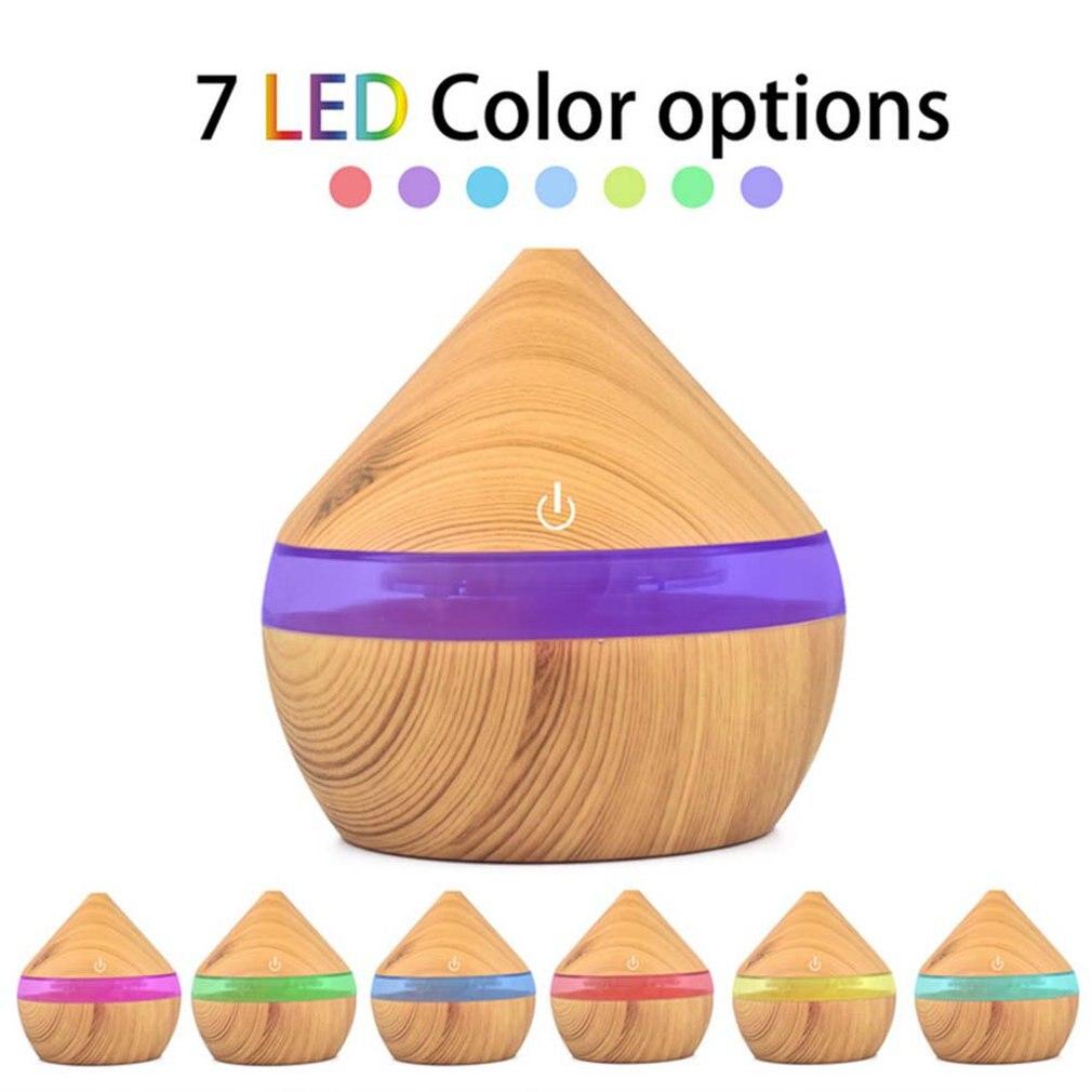 Эфирные масла диффузор очиститель воздуха ультразвуковой Арома диффузор увлажнитель воздуха древесины красочный свет очистной аппарат