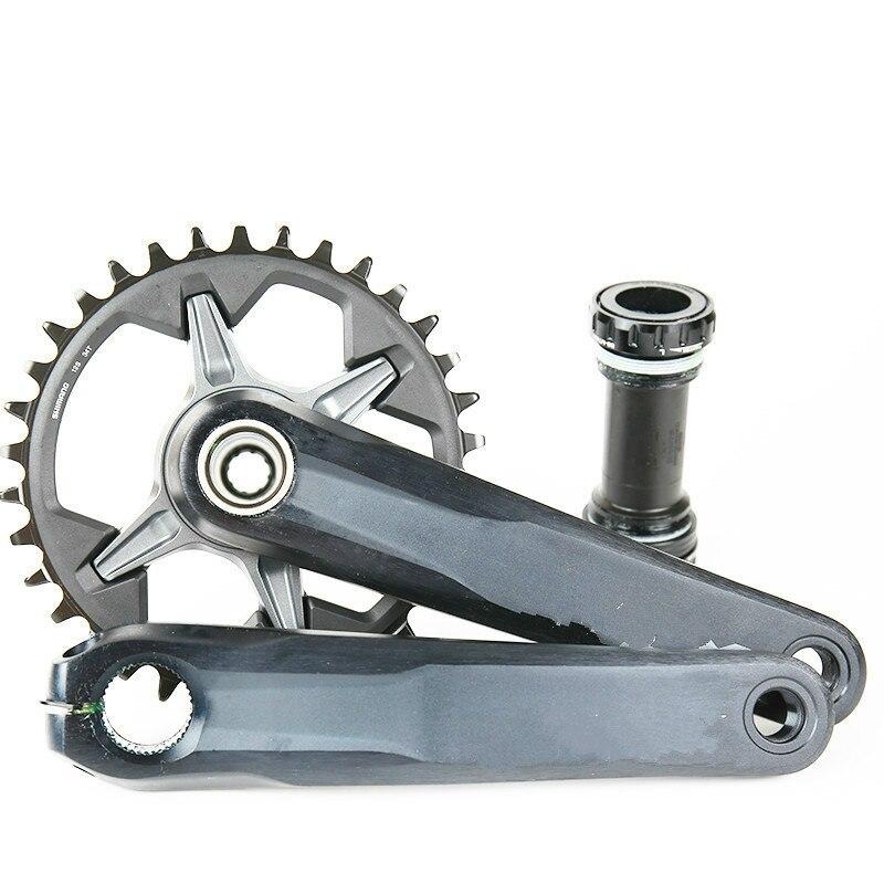 NEW FC M7100 CRANKSET 1x12 12 SPEED MTB BIKE Crankset 30T 32T 34T 170 175mm HOLLOW TECH II BICYCLE CRANK