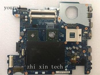 Yourui Pour Samsung R428 R430 Ordinateur Portable carte mère BA92-06003A BA92-06003B BA41-01216A DDR3 Test fonctionne parfaitement