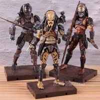 3pcs/set Boar & Warrior & Elder Predator PVC Collectible Action Figure Hiya Predator 2 Movie Model Toy Exquisite Mini