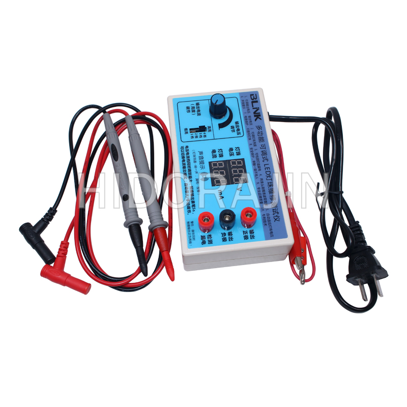 0-180V Output LED Tester Detection Tool TV Monitor Panel Backight Strips W/ Current And Voltage Digital Display