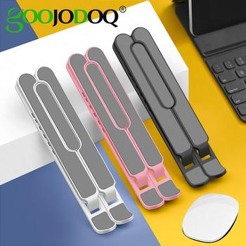 GOOJODOQ Adjustable Foldable Laptop Stand Non-Slip Desktop Notebook Holder For Macbook Pro Air iPad DELL HP - discount item  54% OFF Laptop Parts & Accessories