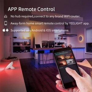 Image 3 - Yeelight Aurora taśma świetlna LED Plus inteligentne wsparcie Wifi Xiaomi Mi Home Apple Homekit Amazon Alexa asystent Google sterowanie głosowe