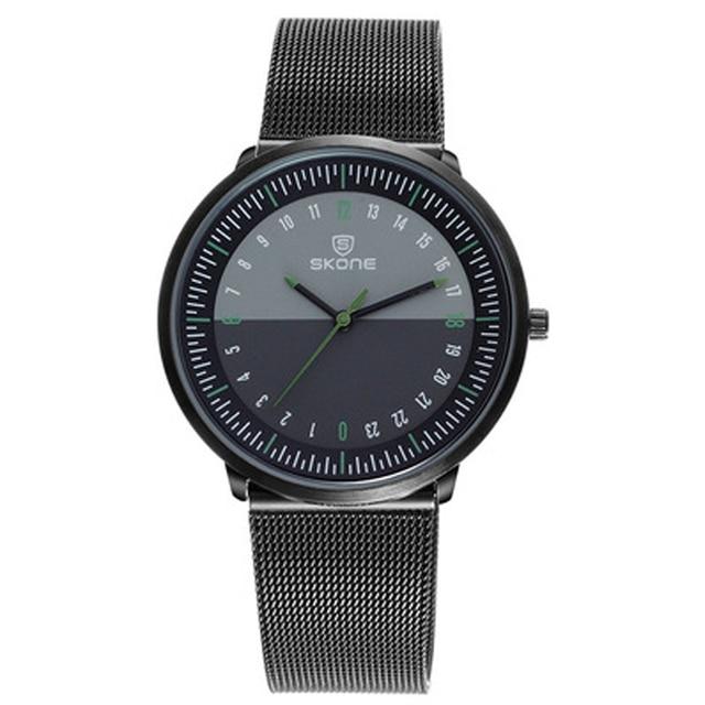 Мужские кварцевые часы с большим циферблатом SKONE