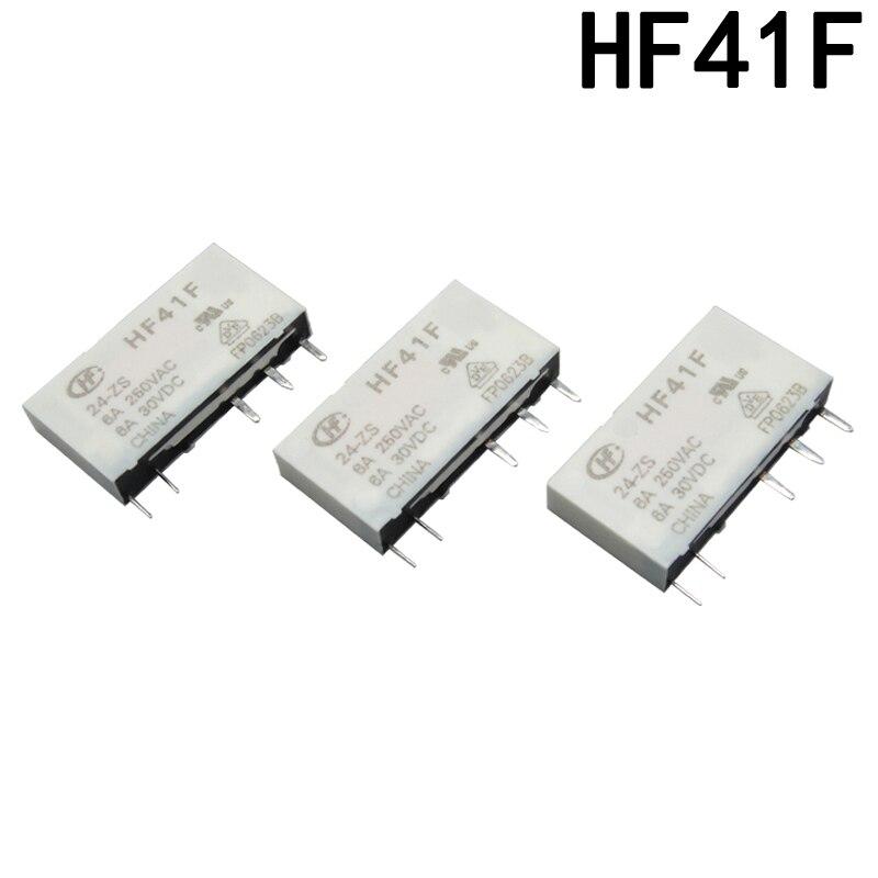 Оригинальный HF41F мини-реле HF41F-24-ZS HF41F-24-ZST HF41F-05-ZS HF41F-60-ZST HF41F-012-ZS