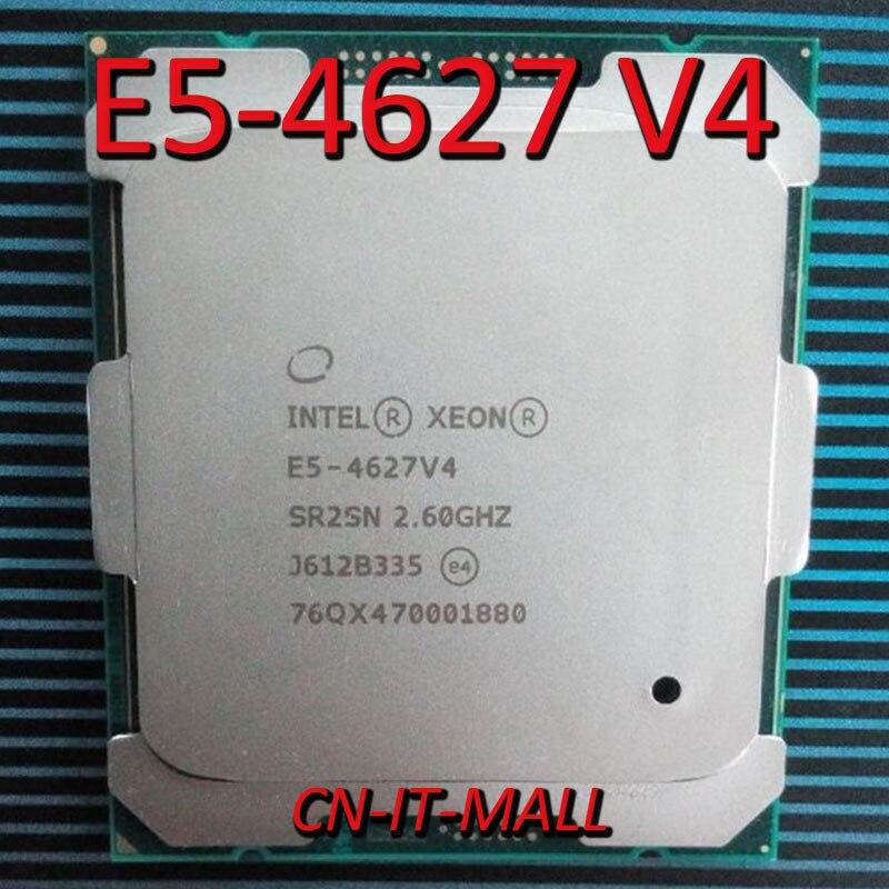 Процессор Intel Xeon E5-4627 V4 2,6 ГГц 25 м 10 ядер 10 потоков LGA2011-3