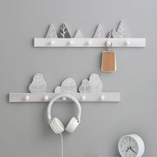 Nordic gospodarstwa domowego drewniane półki wieszak na kurtki półka do wieszania na ścianie wielokrotny wybór dla dzieci Baby Girl Room Decor stojak na wyświetlacz tanie tanio CN (pochodzenie) Drewna Cartoon zwierząt