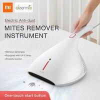 Xiaomi Deerma Mites Vacuum Cleaner Handheld Light And Heat Shock UV Lamp Remove Mites Strong Suction Cleaner Instrument 13kPa