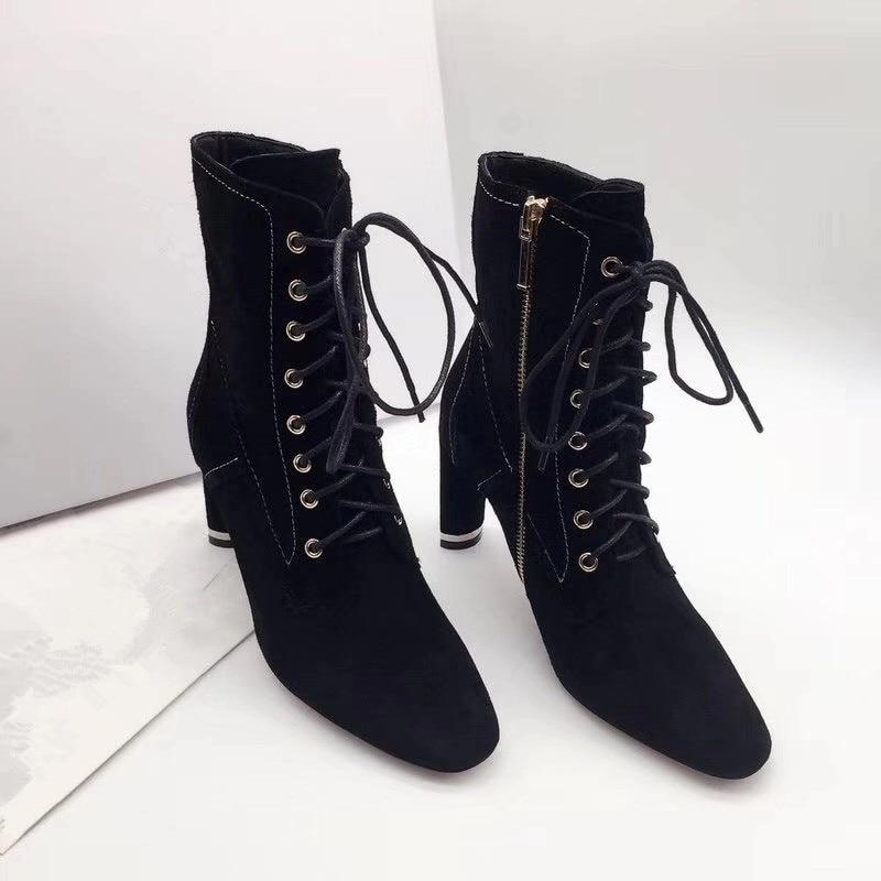 ; женские ботинки на высоком каблуке; вечерние женские ботильоны с острым носком; женская обувь - Цвет: Темно-серый