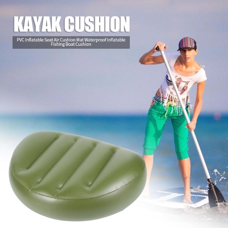 Portable Drifting Canoe Seat Daily Durability Long Service Life Inflatable Boat Durable Kayak Inflatable Cushion 470x310x90mm