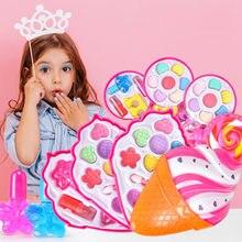 Макияж ролевые детские игрушки для макияжа розовый набор принцесса