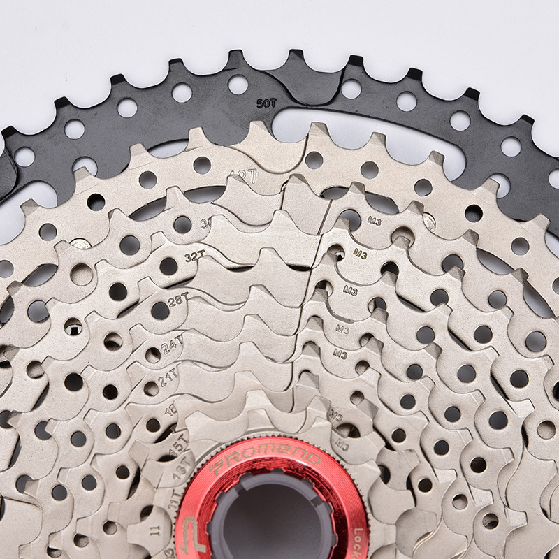 ProMend Bicycle Flywheel Mountain Bike Transmission Gear Positioning 11 Sufei Round 50 Climbing Tooth Cassette Flywheel
