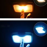 Car Magnetic Roof Light USB Charging Rear Row LED Car Interior Reading Lamp For Trunk Home  Car Ceiling Reading Light