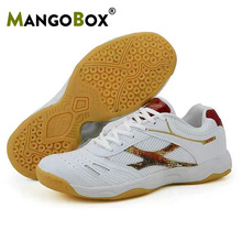 Women Professional Table Tennis Shoes for Men Ping Pong Sneakers Sport Shoes Anti-Slip Breathable Badminton Tennis Gym Shoes Boy