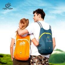 Tectop Foldable Skin Bag Men Women light Waterproof Folding Outdoor Bike Climbing Travel Hike Backpack Lightweight bag