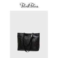 FELIX&FELICIA Brand PU leather tote bags for women 2019 ladies  crocodile pattern shoulder handbags large capacity hobo bag