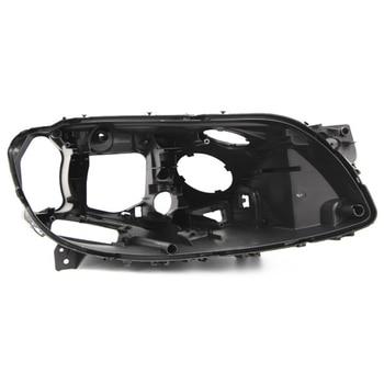 for BMW 7 series f01 f02 shell Headlight black casing lampshade Black lampshade Headlight base lens black case car hood wrap