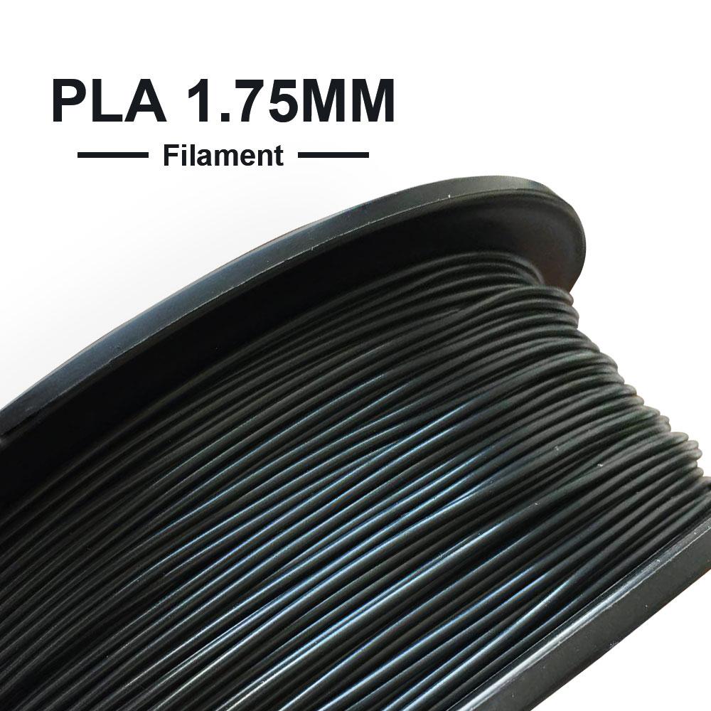 Tronxy 3D Printer Filaments 1kg/Roll 1.75mm PLA Filament Plastic White Black 3D Printing Materials 3d printers Parts Accessories