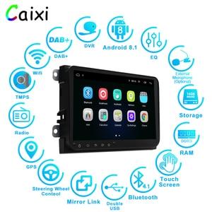 Image 2 - Caixi 9 カーラジオ gps ナビゲーション Android8.1 multime プレーヤー vw フォルクスワーゲンシュコダ GOLF5 Golf6 ポロパサート B5 B6 jetta ティグアン