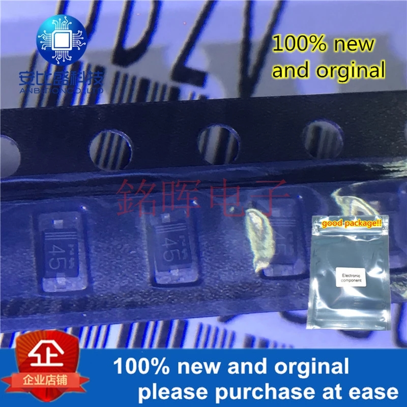 20pcs 100% New And Orgianl UDZV15B 15V Silk-screen 45 SOD323 0805 In Stock