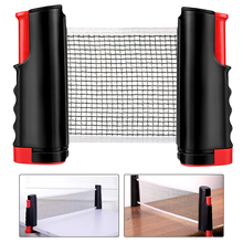 Table Tennis Net Retractable Portable Ping Pong Post Net Rack For Any Table Student Sports Equipment table tennis accessories
