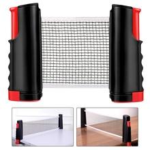 Tischtennis Net Versenkbare Tragbare Ping Pong Post Net Rack Für Jede Tabelle Student Sport Ausrüstung tisch tennis zubehör