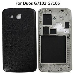 Image 5 - Capa traseira para samsung galaxy grand 2 ii, painel digitalizador de tela sensível ao toque, para modelos galaxy grand 2 ii duos g7102 g7106