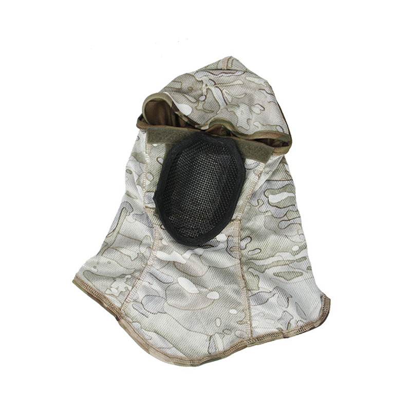 H4e4b7e7727d44e25a9f56244f51da003B TMC3267 CS Tactical Camo Head Cover Metal Mesh Balaclava Full FaceMask Sunscreen Dust-proof Full-wrapped Headscarf Free Shipping