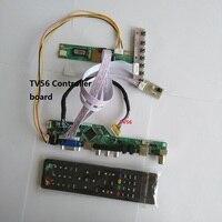 universal compatible HDMI AV VGA RF USB TV56 LCD LED Card DIY Controller board laptop KIT LCD TV For Panel SCREEN DISPLAY